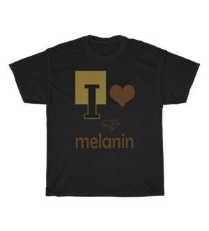 I love my Melanin Unisex Heavy Cotton Tee
