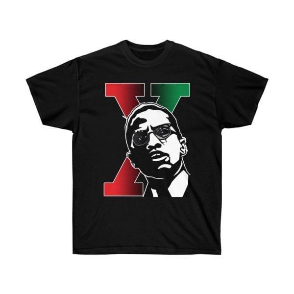 Malcolm X Malik El Hajj Shabazz Unisex Ultra Cotton Tee