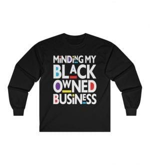 Black Business Ultra Cotton Long Sleeve Tee