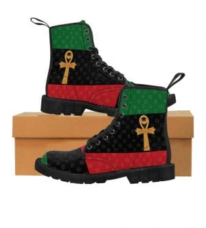 Pan-African Soldier Men's Canvas Boots