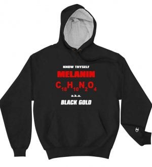 Black Gold Champion Hoodie