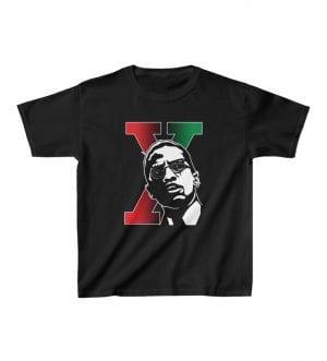 Malcolm X Kids Heavy Cotton™ Tee