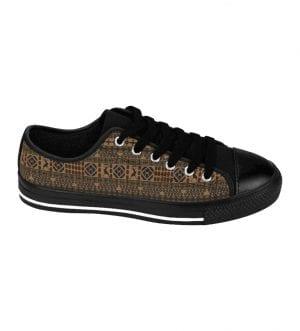 African Print Women's Sneakers