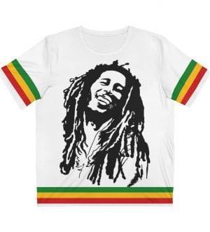 Bob Marley Unisex AOP Cut & Sew T-Shirt