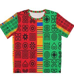 Adinkra Unisex AOP Cut & Sew T-Shirt