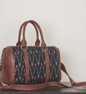 Ikat African Wave Handbag