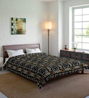 Egyptian Pattern Comforter
