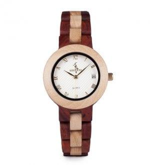M19 Rose Sandal Wood Watch Women Minimal