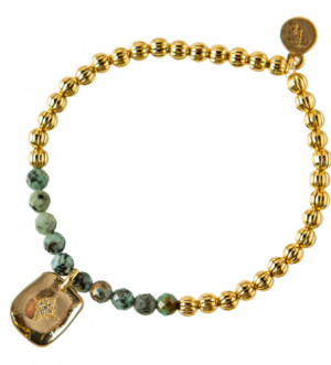 Piper Bracelet-African Turquoise