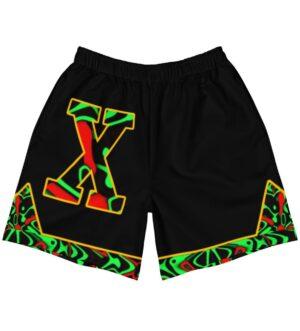 Malcolm X Men's Athletic Long Shorts