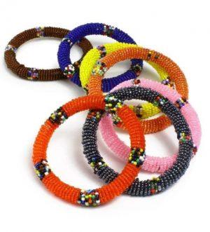 Maasai beaded bracelets