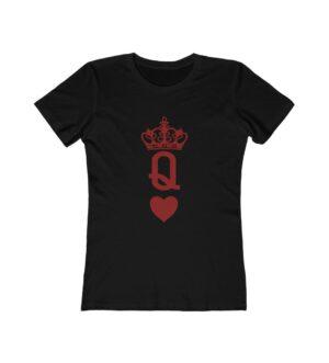 Queen of Hearts Women's The Boyfriend Tee